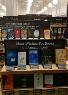 Amazon Books Window